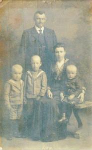 familie Piet Zomerdijk Coosje Hes