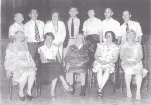 14-8-1981 80ste verjaardag van oma