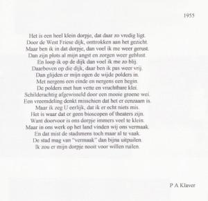 A4-klaver-gedicht