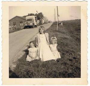 A49 Joske Meijles Adr. Hanny Blom Gdr en Gerda Blom Gdr 1958
