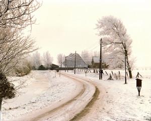 Sneeuw-op-weg