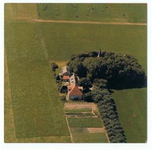 luchtfoto kerkelaan ±1976