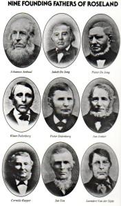 nine founding fathers of roseland