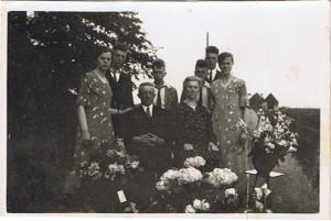 ABV Anna en Dirk Visser 25 jr getr. 1935