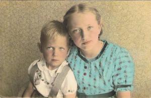 AK Annie en Wijnand Kossen 1955