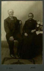 Wigger Zwagerman en Antje Bootsman