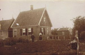 Andijk woning van Cornelis Visser Dijkweg 122 later woonden Mien en Piet Visser hier