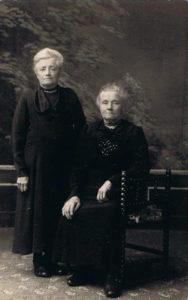 Antje en Aaltje Baas drs. van jan Baas en Antje Visser