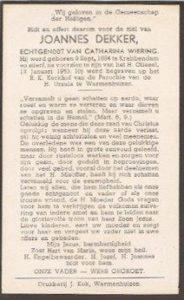 Dekker 1953