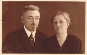 Evert Broekstra en Neeltje Visser(13-02 1932)