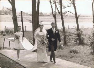 Gerda en Wim Gazenbeek Visser 25-05 1967