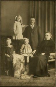 Willem en jaantje, Arie Stijntje en Truus 1917