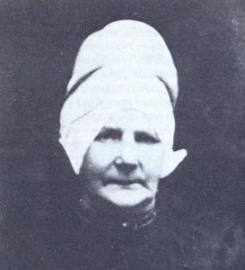 Weduwe Guurtje Baars-Huisman † 7 mei 1930