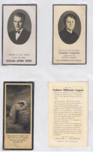 bidprentjes Wiering 2 voorzijde