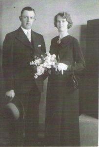 historisch eenigenburg piet blom czn en cornelia gieling 04 06 1936