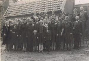 opa en oma Bos 25 jaar getrouwd 1941