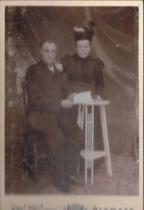 opa en oma van tante Ma Dirk Bakker en Maartje v d Molen