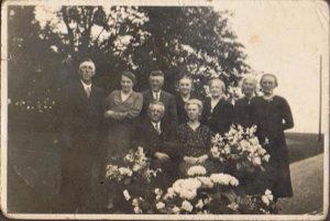 opa oma Visser 25 jaar getrouwd 1935