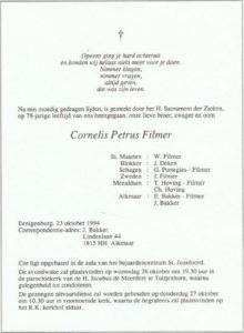 rouw Cor Filmer 1994