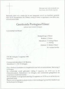 rouw Guus Portegies Filmer 1996
