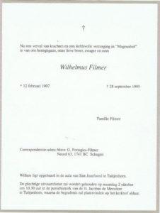 rouw Willem Filmer 1995