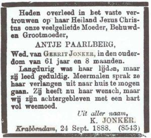 Antje Jonker-Paarlberg