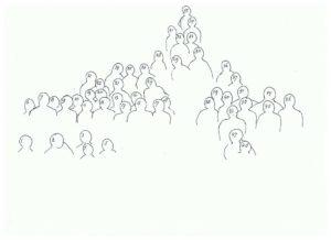 cijferkopie bij foto verjaardag Stijn Meijiles 80 jaar