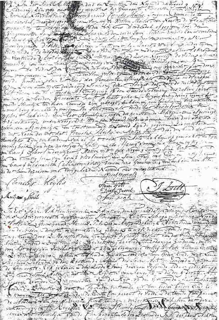 huwelijksakte 1817 Cornelis Meijles en Antje Smitt