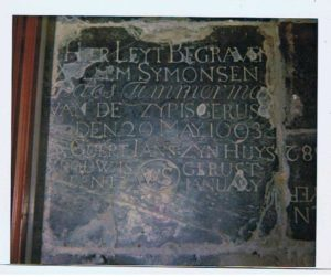kerk E'burg grafsteen 1