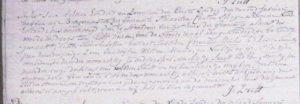 tweede afkondiging huwelijk Cornelis en Antje 1817
