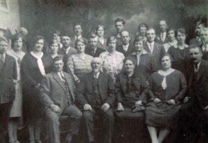 gezin Visser-Groot 50 jaar getrouwd