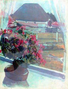 1966-1966 Uitzicht raam met begonia (2)