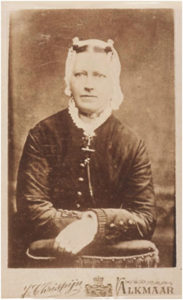 De echtgenote van Willem de Jongh, Aagje Quant 1847-1896 dochter uit het eerste huwelijk van Pieter Quant en Aagje Weel