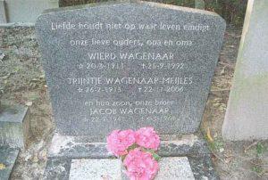 grafsteen Wierd Truus en Jaap Wagenaar