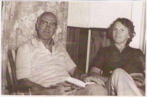 oom Arie en tante Trien Visser-Slot