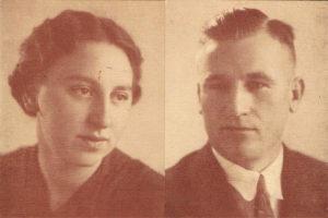 oom Wierd en tante Truus Wagenaar